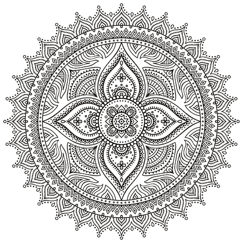 Traditional Mandala Flower Meaning Www Pixshark Com