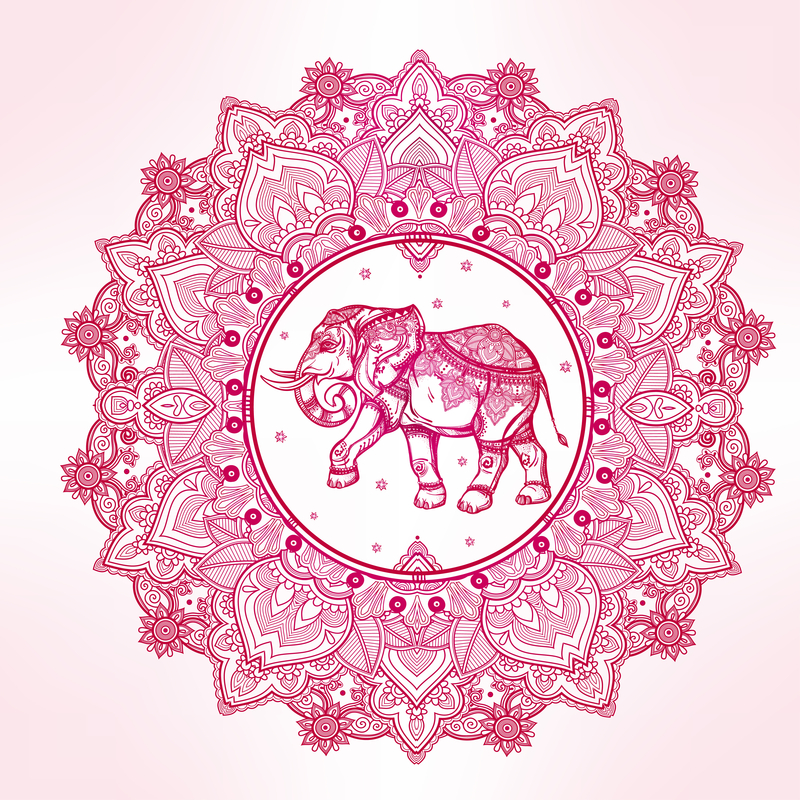 Elephant Mandala - Mandalas For The Soul