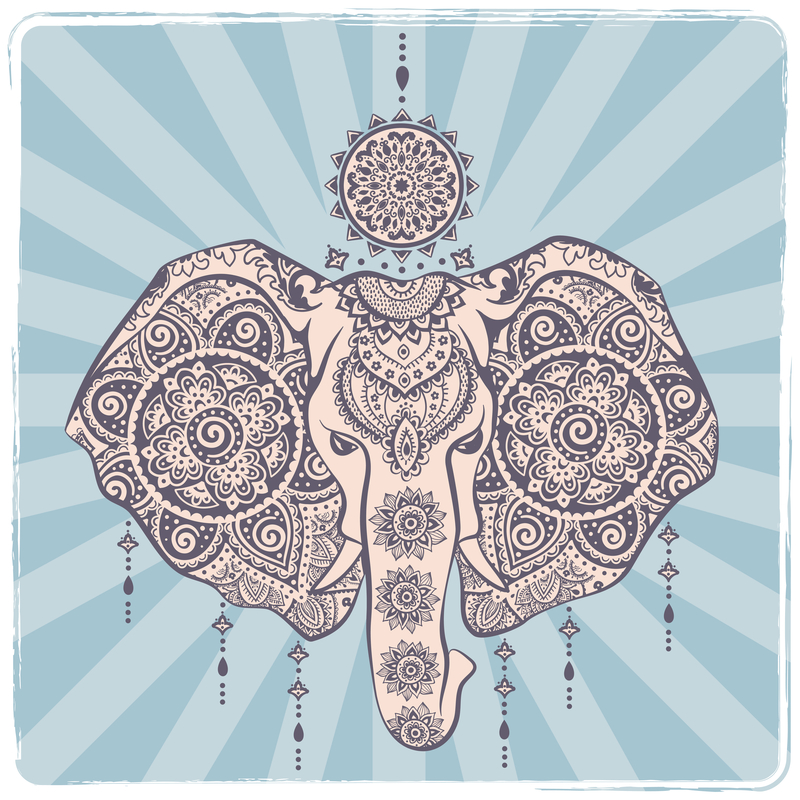 Elephant Mandala Mandalas For The Soul
