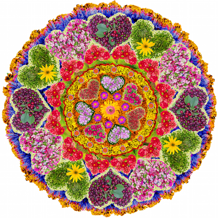 Love mandala mandalas for the soul - Mandala amour ...