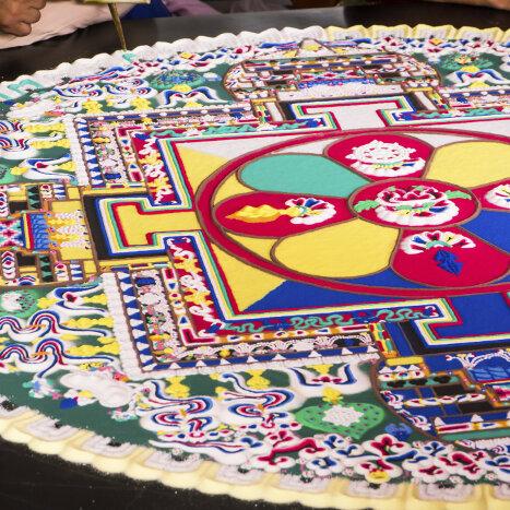 Sand Mandala Mandalas For The Soul