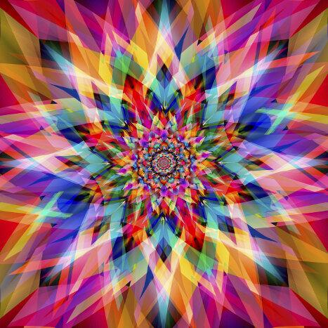 Mandala art mandalas for the soul - Colores para mandalas ...