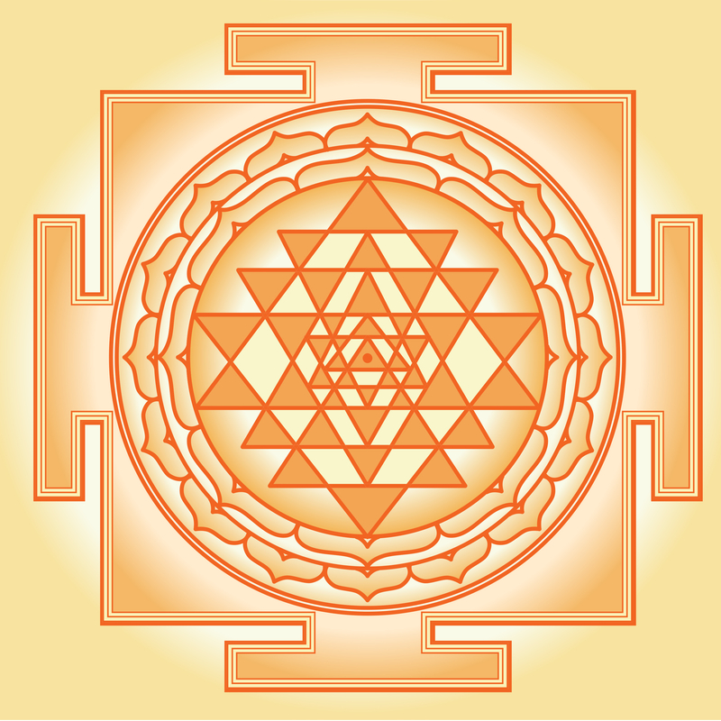 Sri Yantra Mandala Mandalas For The Soul