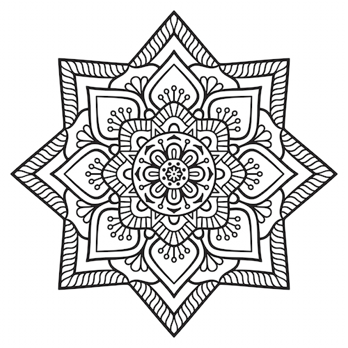 Star mandala mandalas for the soul - Mandalas signification formes ...