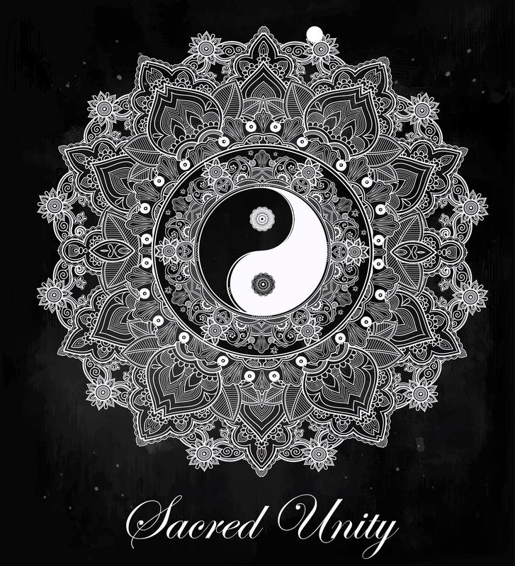 Yin Yang Mandala Mandalas For The Soul