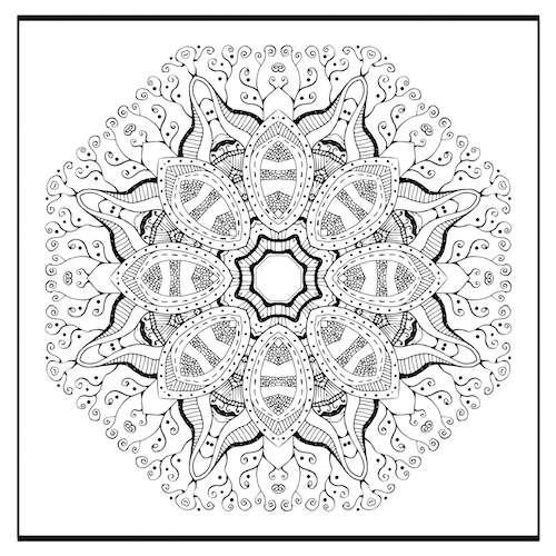 Zentangle Mandala Mandalas For The Soul Inspiration Zentangle Patterns